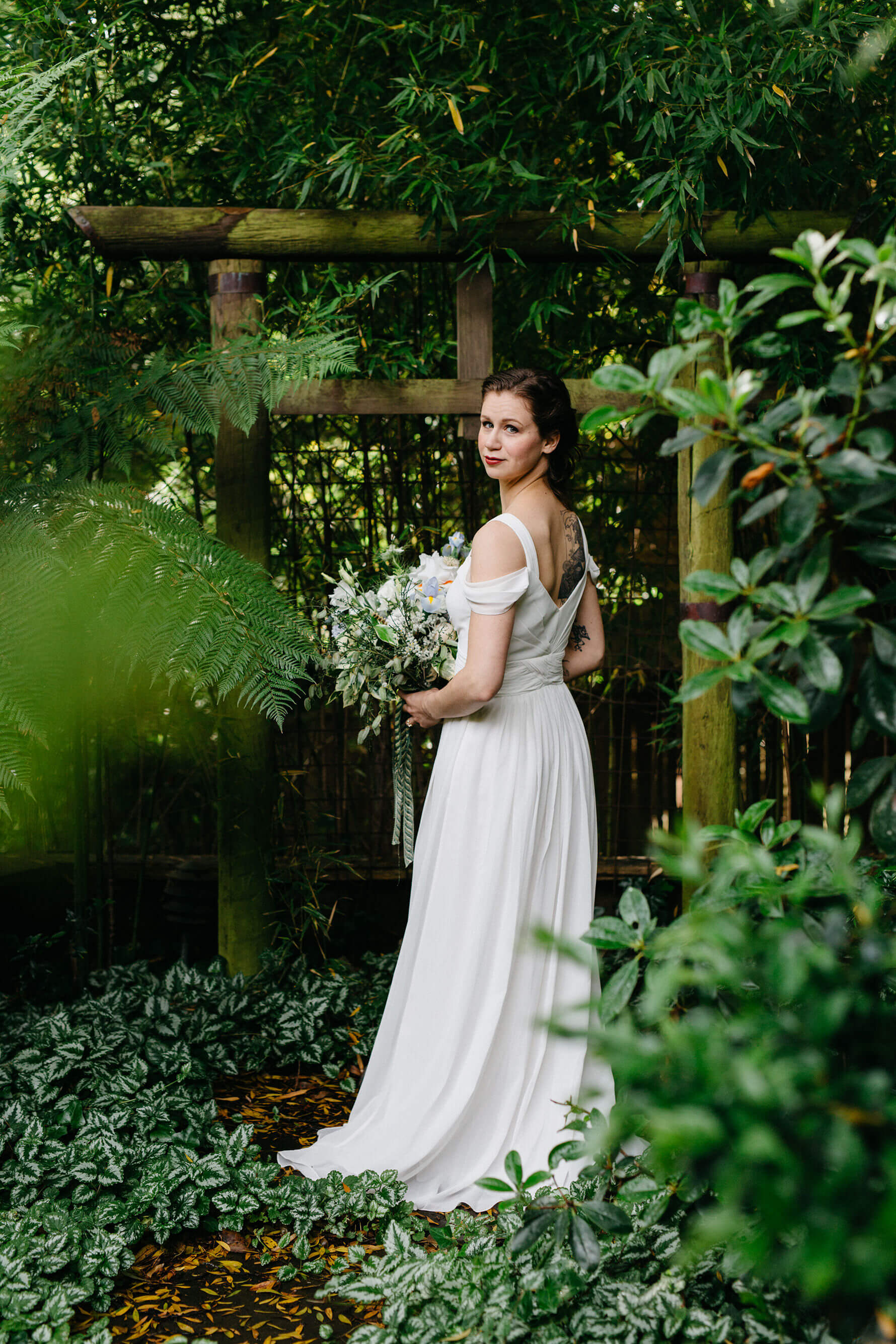 Elegant San Francisco Bridal Portraits | Lauren DeGracia