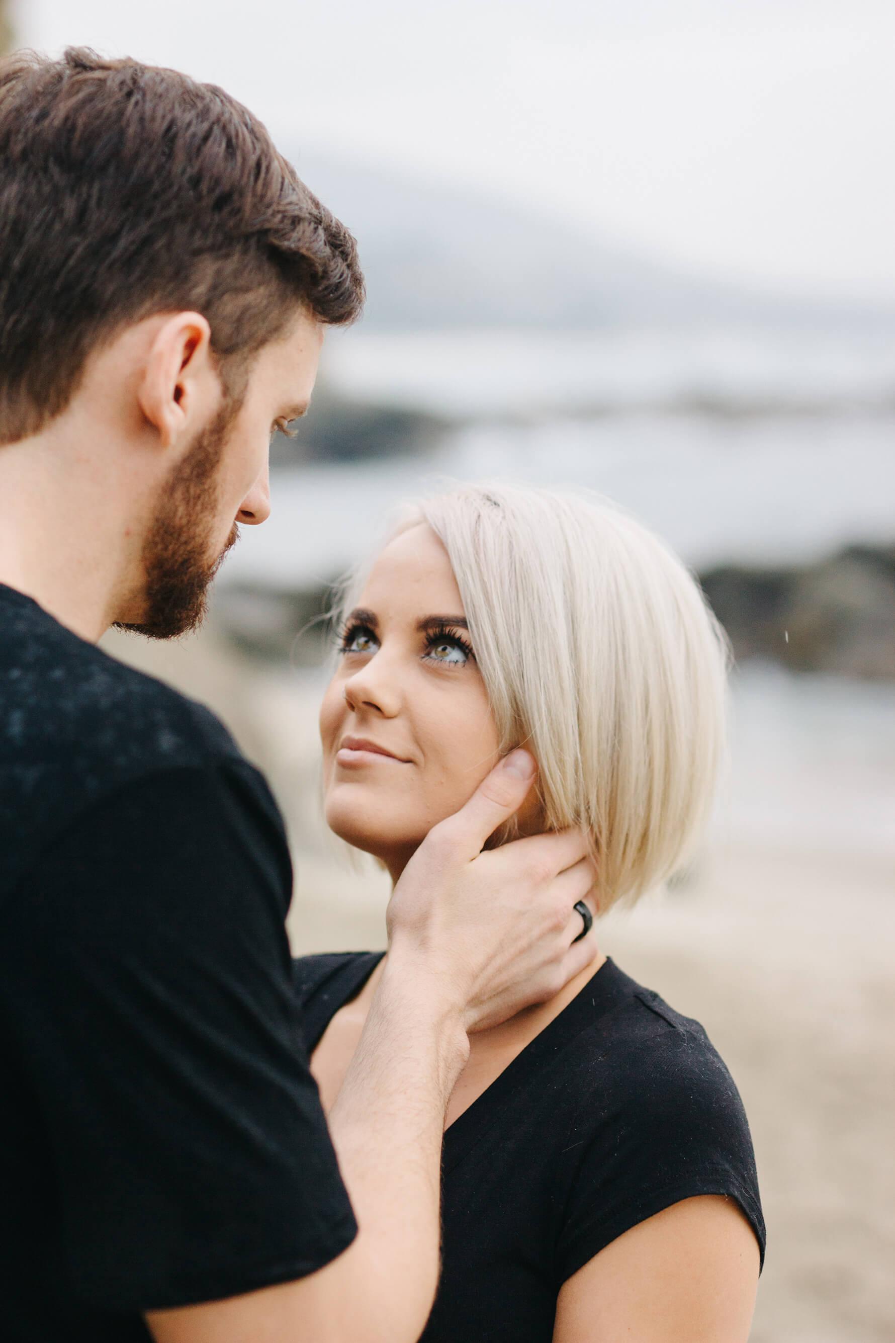 Intimate Laguna Beach Engagement | Lauren DeGracia