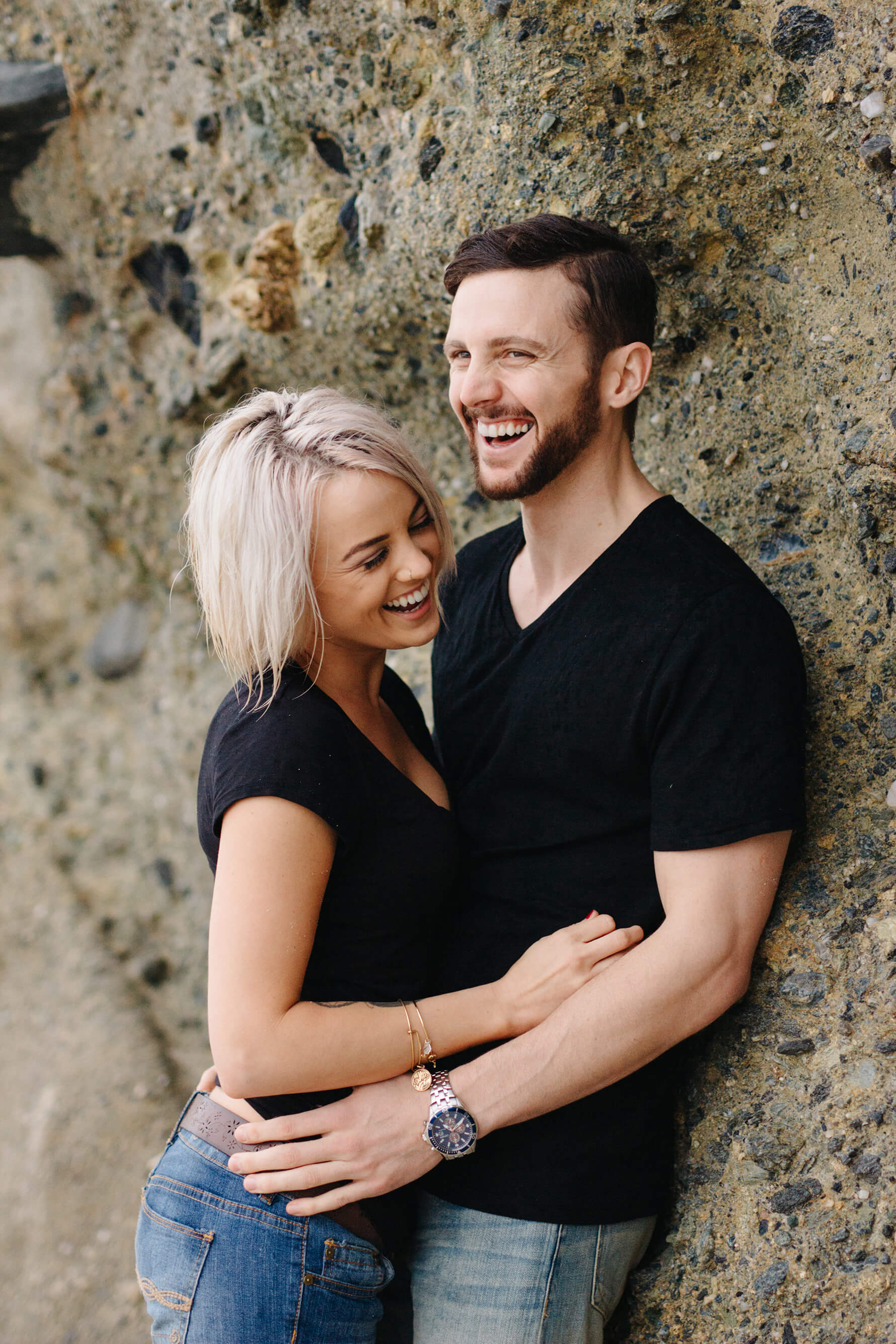 Intimate Laguna Beach Engagement | Lauren DeGracia