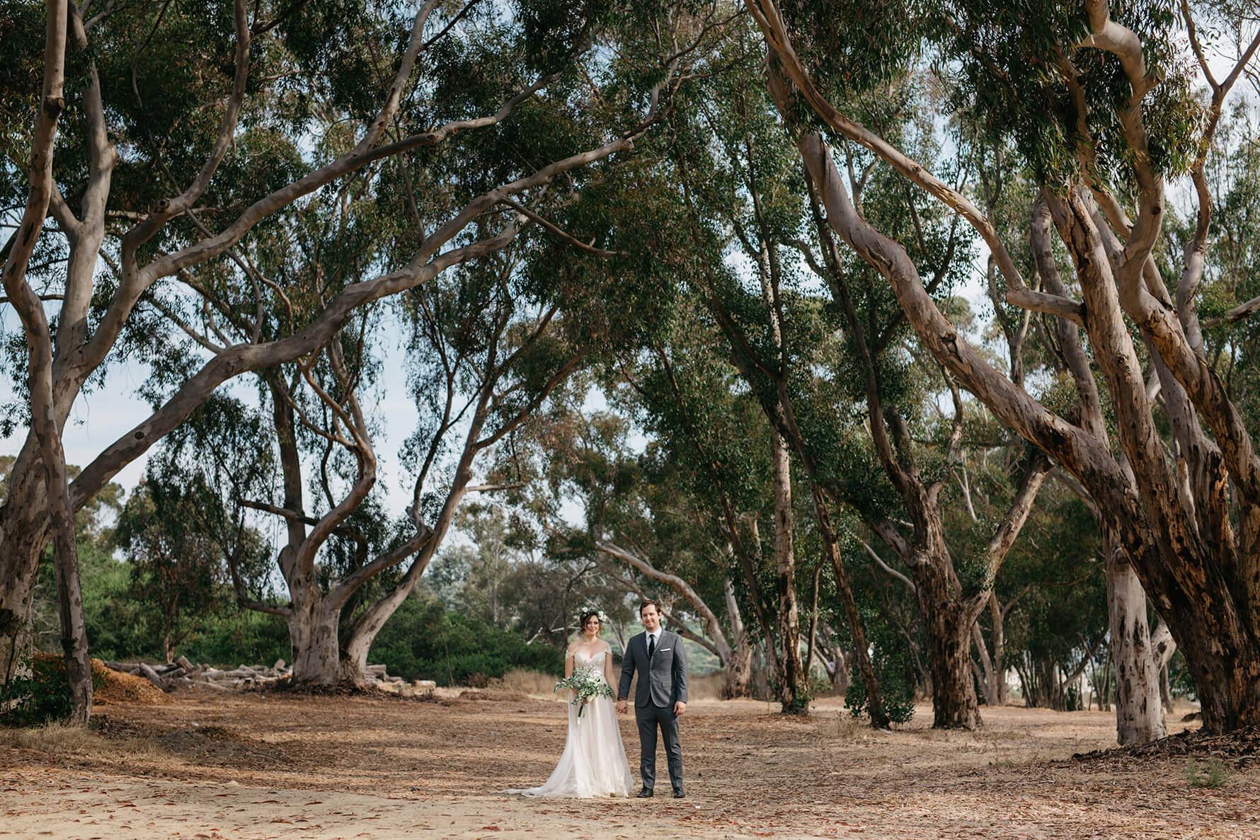 Timeless Romance San Diego Bride & Groom Portraits