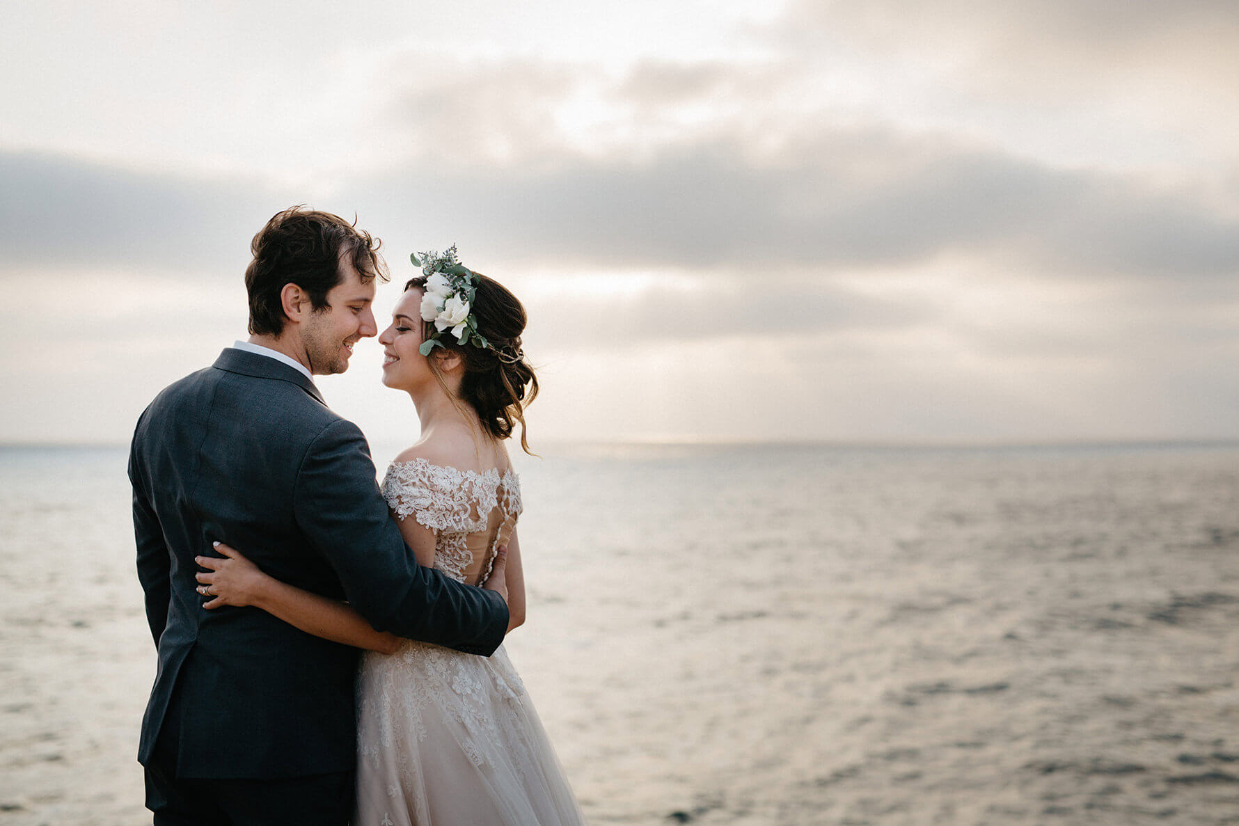 Timeless Romance San Diego Bride & Groom Portraits   Lauren DeGracia