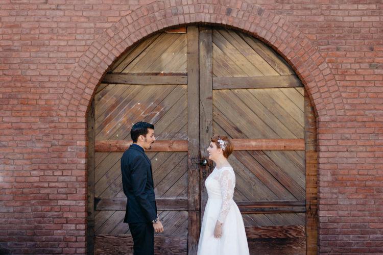 Rustic Industrial Redlands Wedding | Lauren DeGracia