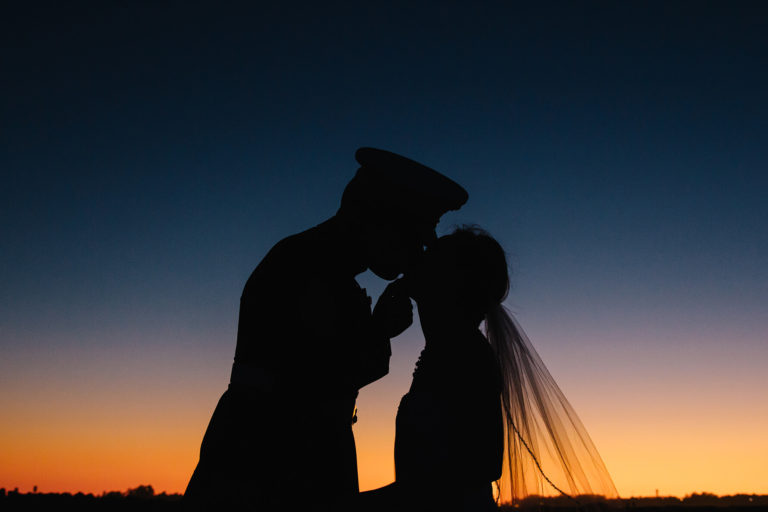 Santa Cruz Sunrise Military Destination Wedding | Lauren DeGracia