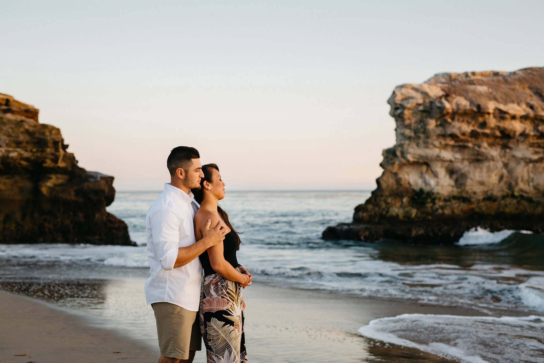 Natural Bridges Santa Cruz Destination Engagement Session | Lauren DeGracia
