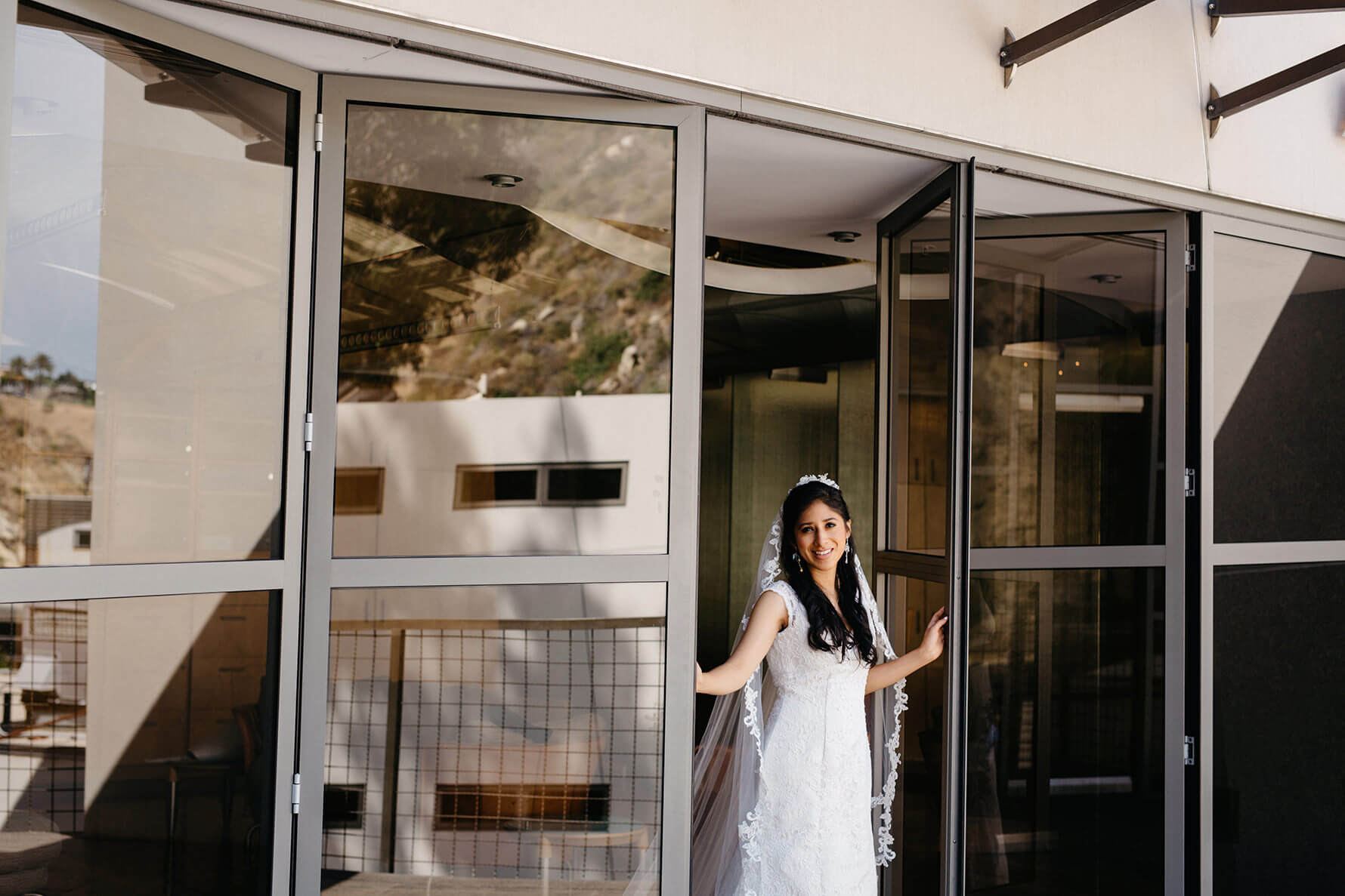 Laguna Beach Modern Hillside Sawdust Festival Wedding | Lauren DeGracia