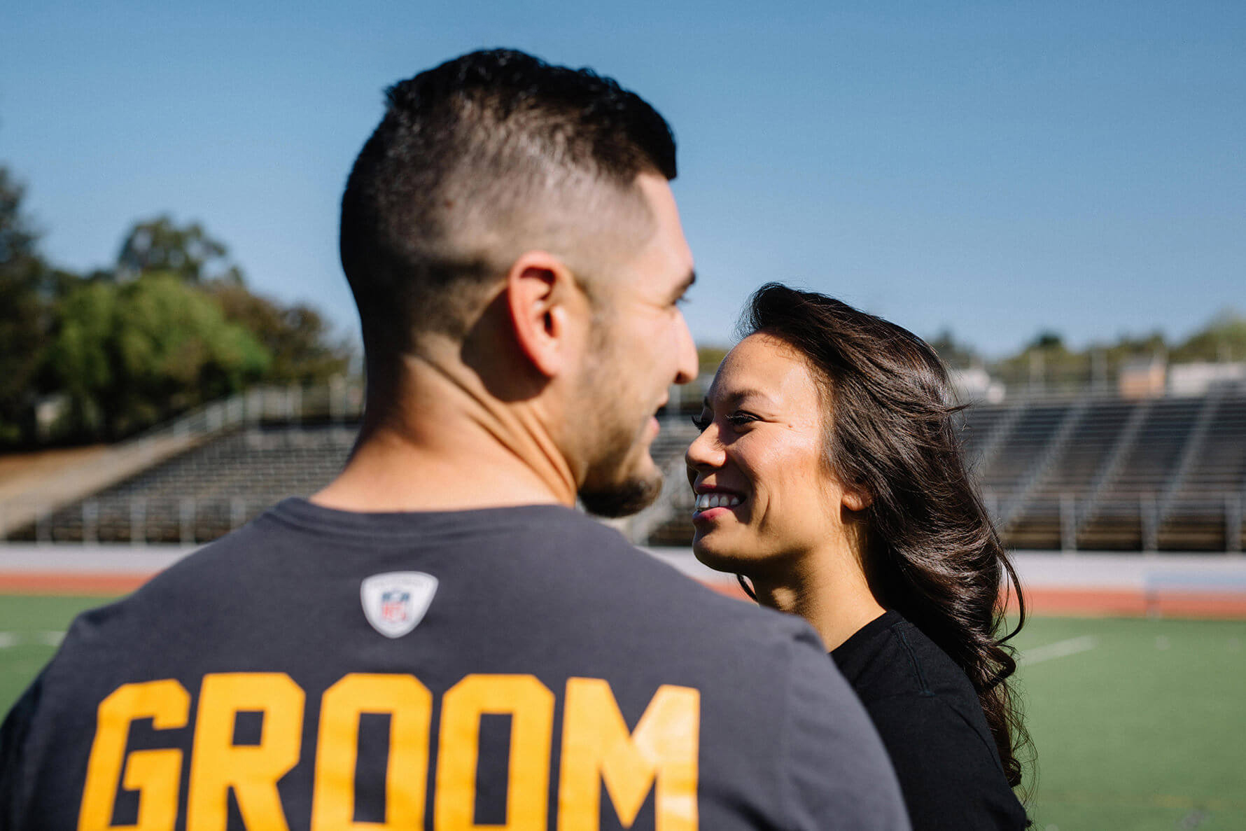 Steelers Football Engagement Session | Lauren DeGracia