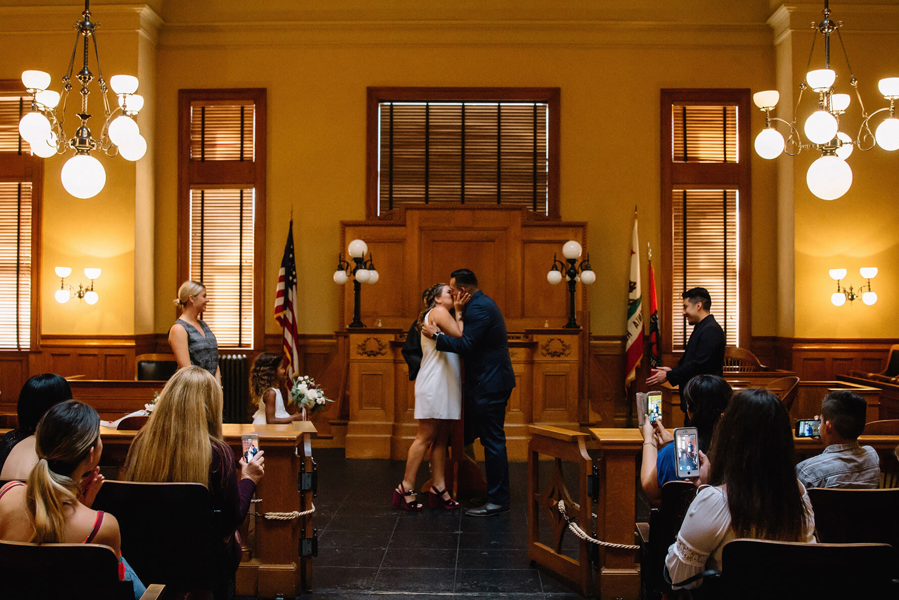 Old Santa Ana Courthouse Museum Elopement | Lauren DeGracia