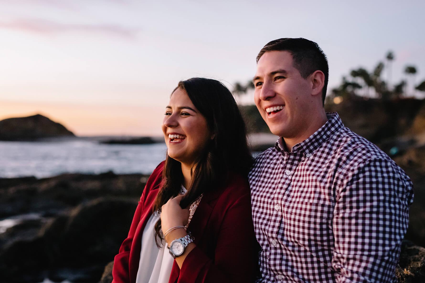 Laguna Beach Christmas Surprise Proposal | Lauren DeGracia