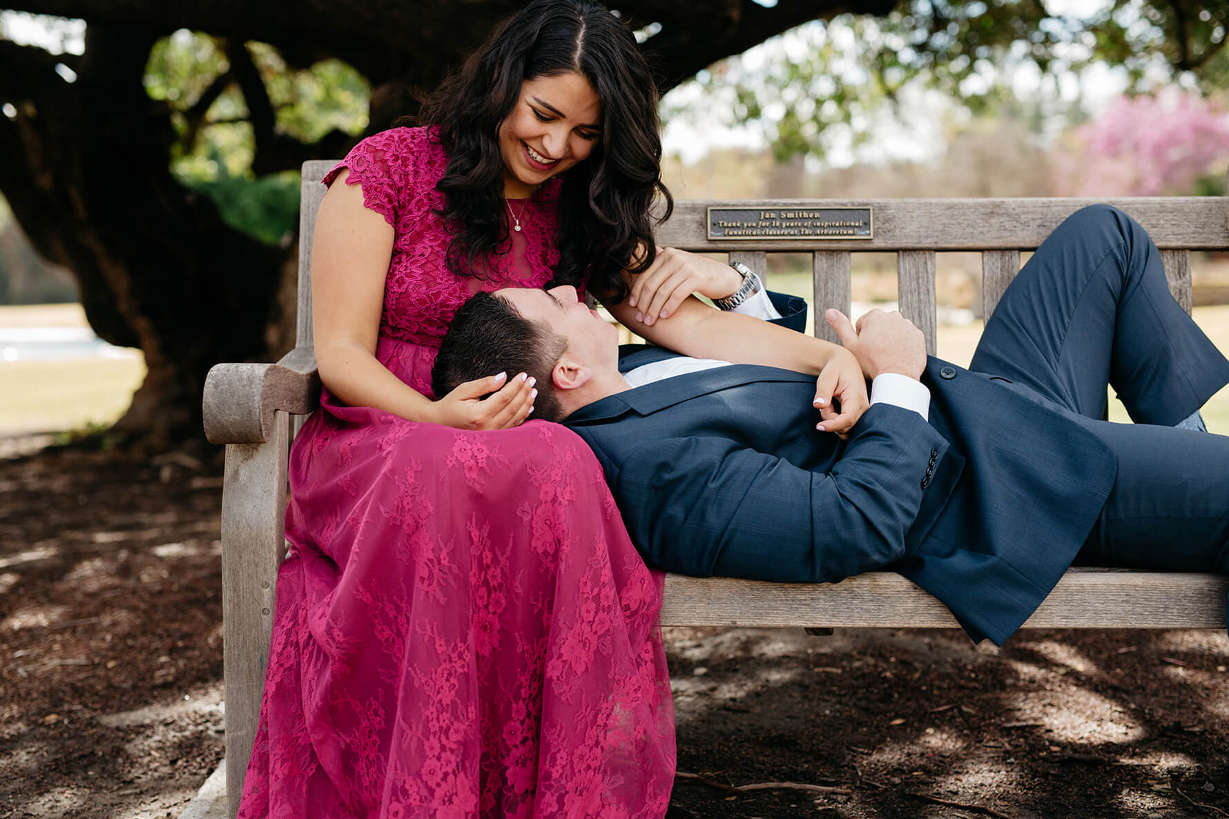 Los Angeles Arboretum Garden Engagement | Lauren DeGracia